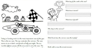 Ejercicios inglés primaria