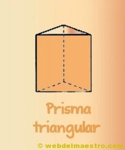 Figuras geometricas tridimensionales primaria: prisma triangular