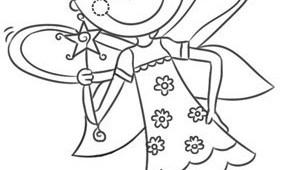 Dibujos para colorear de hadas Archives  Web del maestro