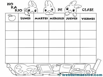 Horario escolar-2
