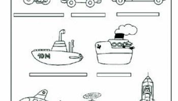 Medios De Transporte Para Niños Web Del Maestro