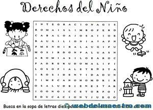 Derechos Del Niño 2 Web Del Maestro