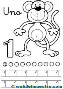 Fichas de números-1