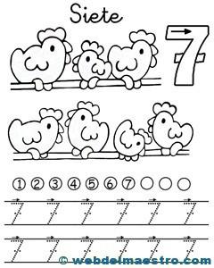 Fichas de números-7