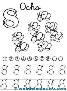 Fichas de números-8