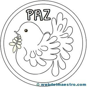 MANDALA PALOMA DE LA PAZ