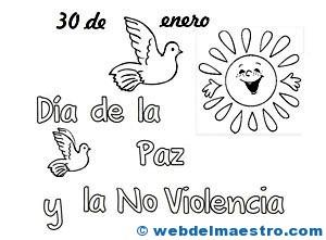 Paloma De La Paz Cartel Web Del Maestro