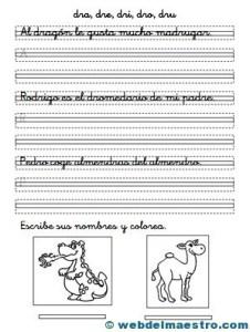 Ejercicios de caligrafía-4