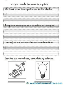 Ejercicios de caligrafía-6