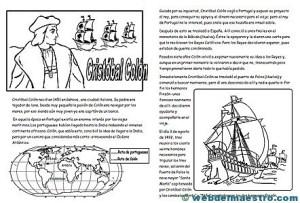 Cristóbal Colón para niños