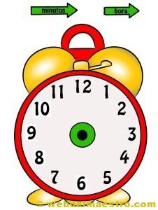 Relojes para aprender la hora-2-color-