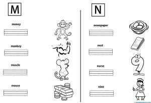 Letras M y N