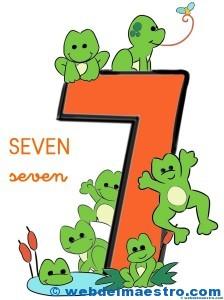 Números en inglés-7-color