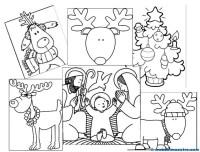 Dibujos de Navidad para colorear - Web del maestro
