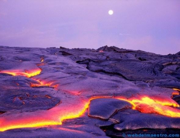 volcán hawaiano
