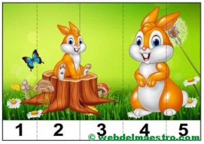 puzzles infantiles para aprender los números-2