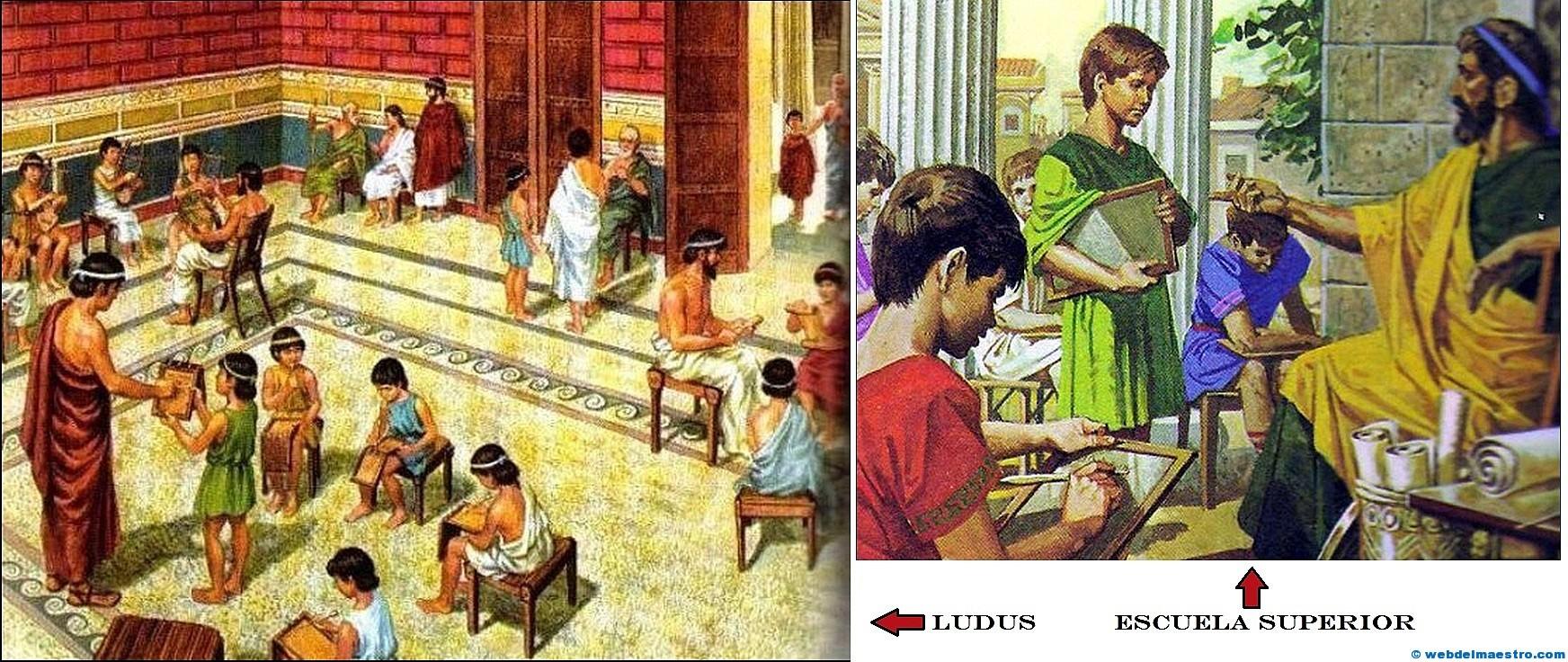 Image result for Escuela Romana