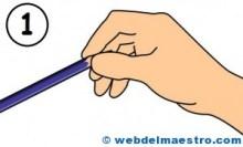 Agarre del lápiz
