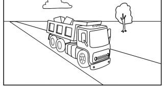 Medios de transporte-camión