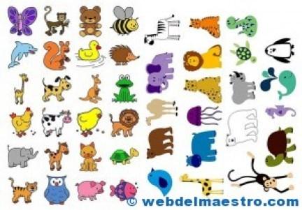 Pictogramas para imprimir de animales
