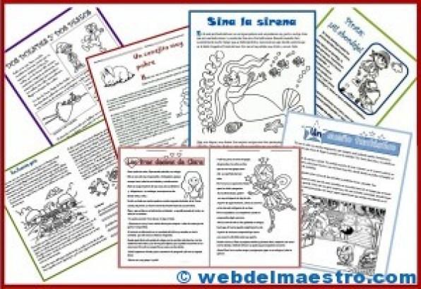Lecturas comprensivas-tercero primaria