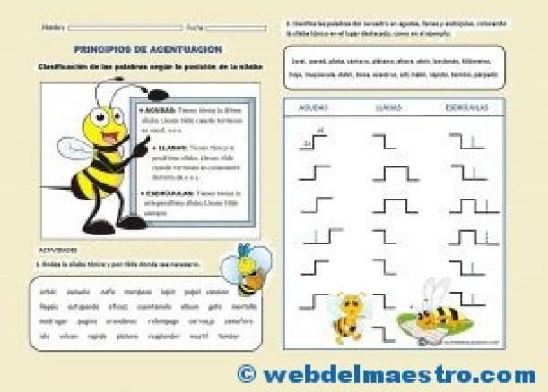Ortografia-Acentuacion de palabras