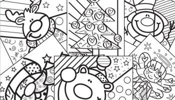 Dibujos De Navidad Muy Bonitos.Dibujos Navidenos Para Colorear Web Del Maestro