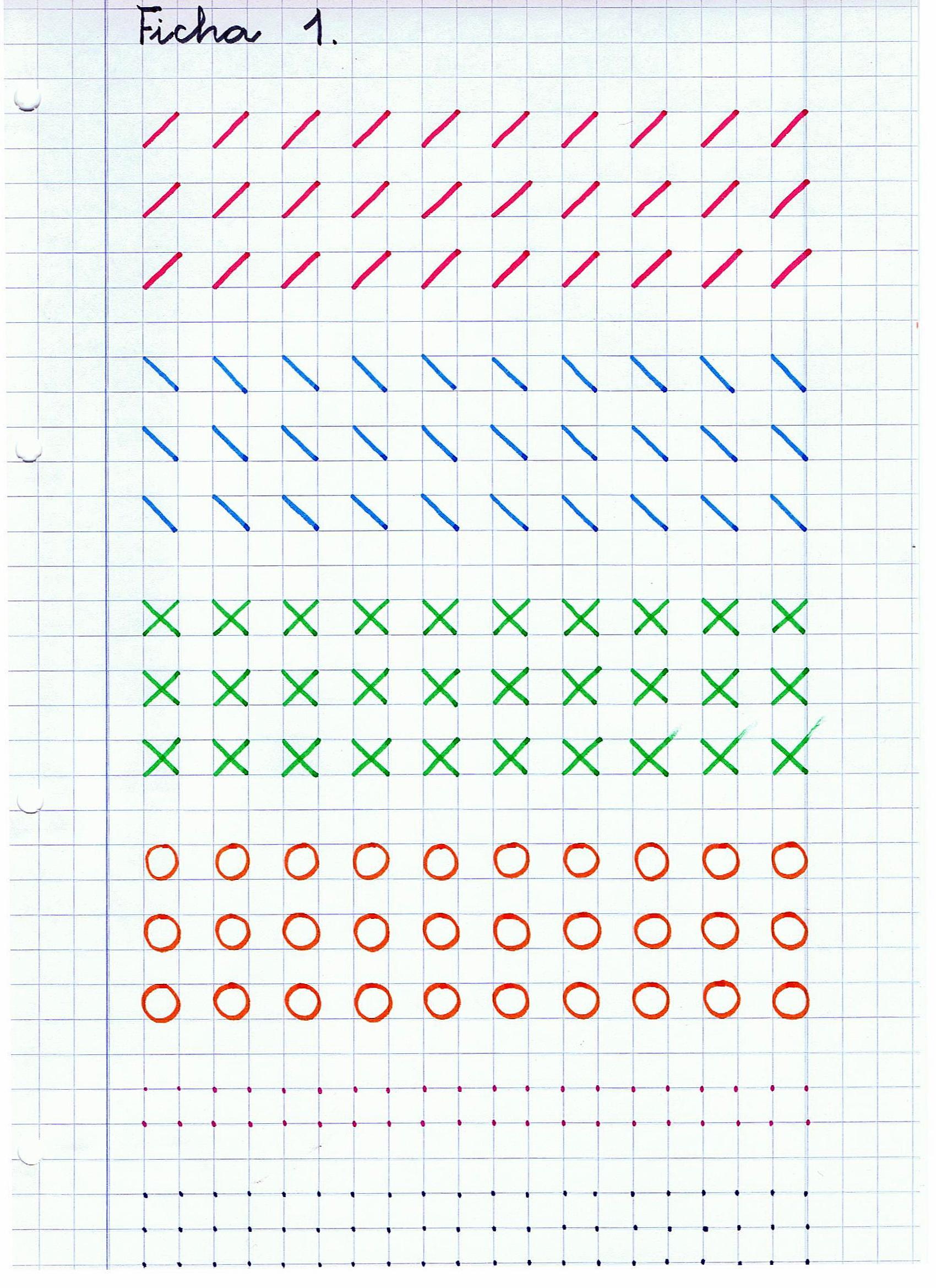 Cuadernillos caligrafia pdf to excel
