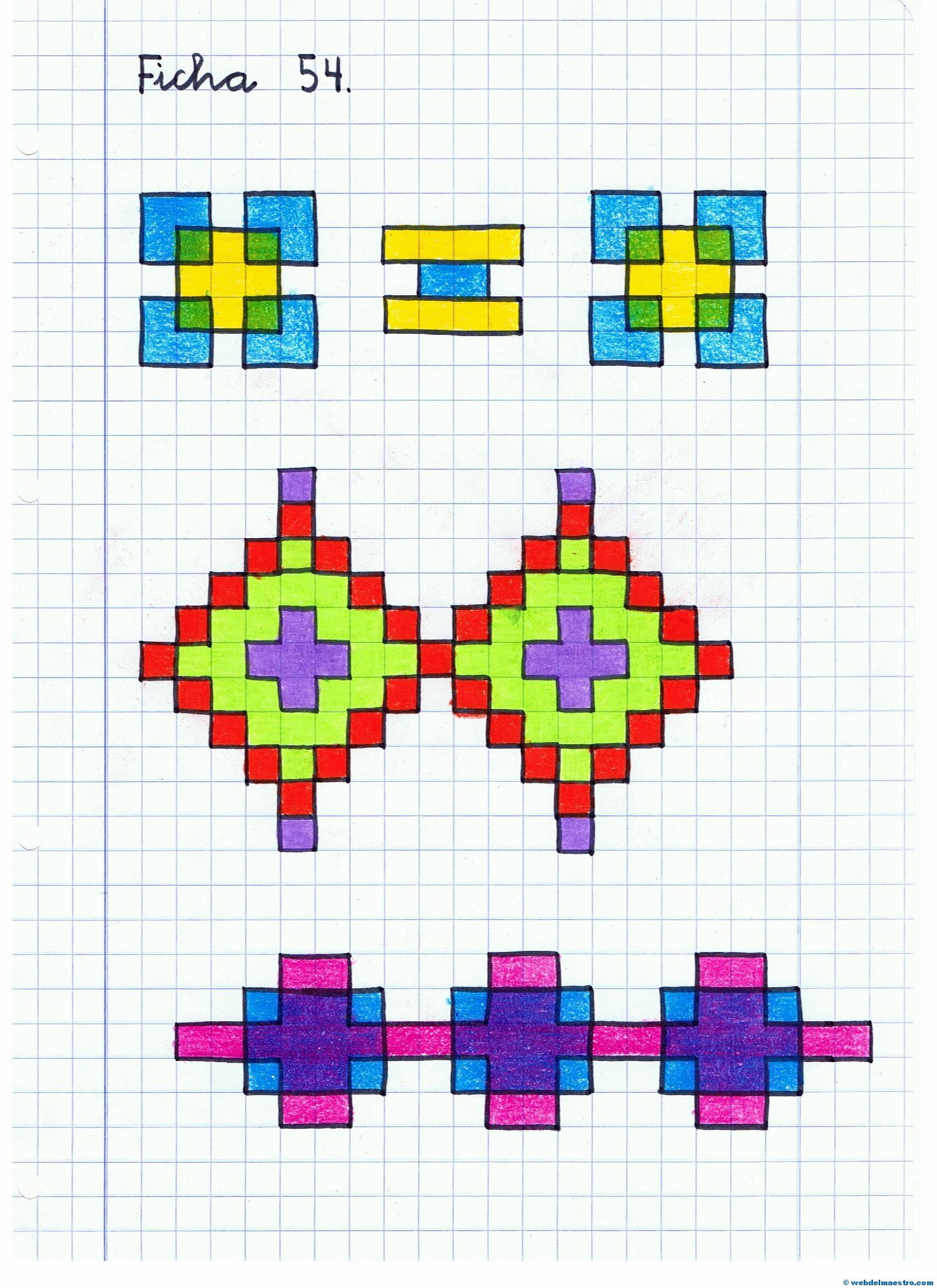 Dibujos cuadriculados web del maestro - Cenefas de papel infantiles ...