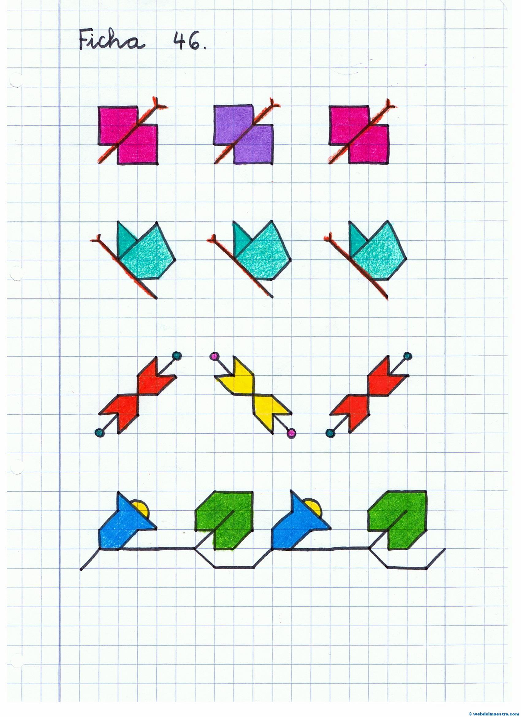 Dibujos Cuadriculados Web Del Maestro