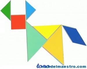 Tangram  Figuras para imprimir online