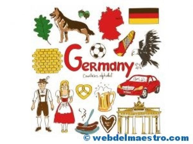 Paises en ingles-Alemania