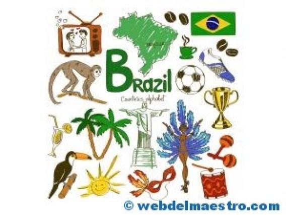 Paises en ingles-Brasil