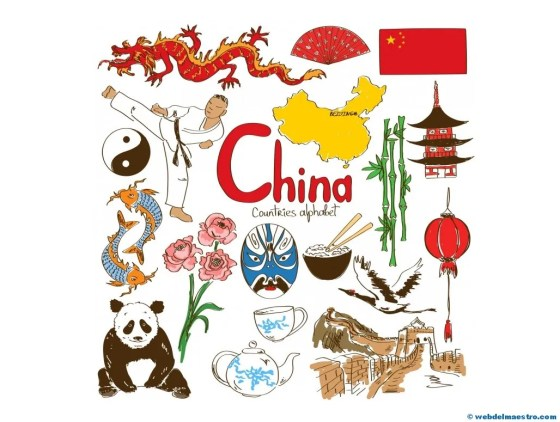 Paises en ingles-China