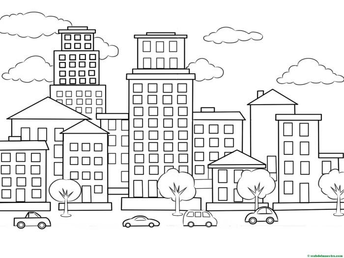Cómo Dibujar Ciudades Web Del Maestro