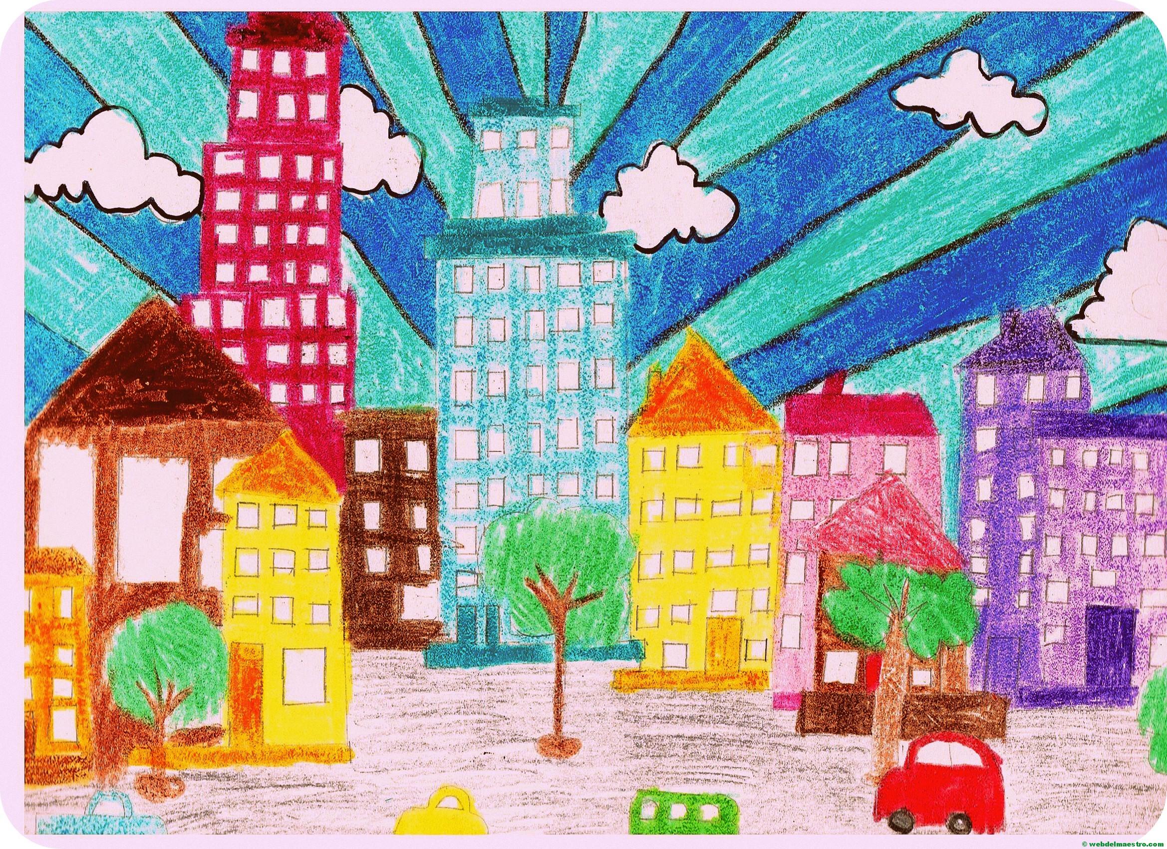C mo dibujar ciudades web del maestro for Cuarto primaria