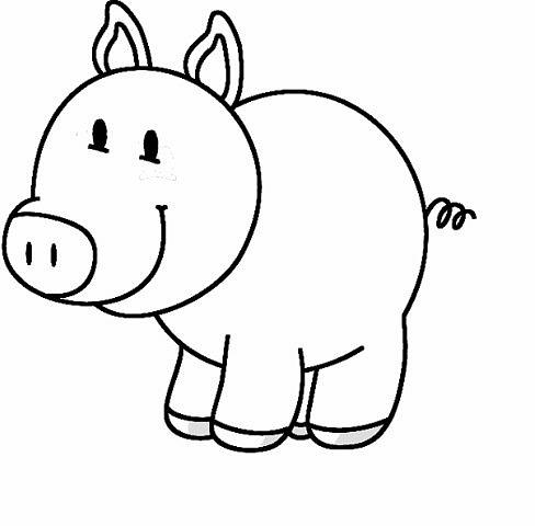 Dibujos para colorear de animales - Web del maestro