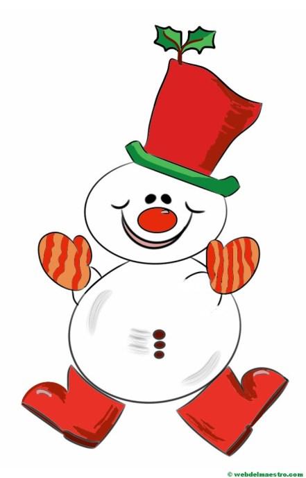 muñeco de nieve-2-color