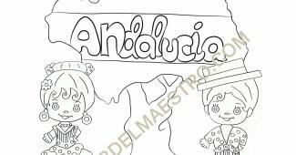 Dia de Andalucía para niños-