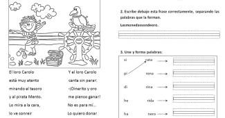 Lecturas infantiles paso a paso-Lectura r suave-con actividades