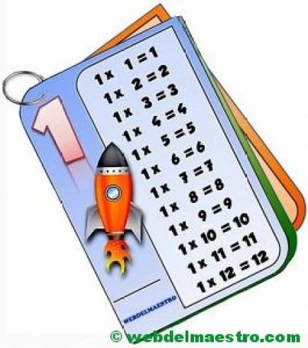 Librito-Tablas de multiplicar