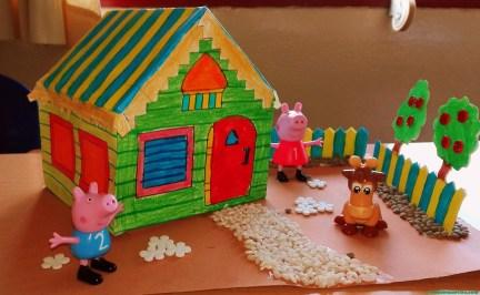 Terminación de las manualidades para niños-4