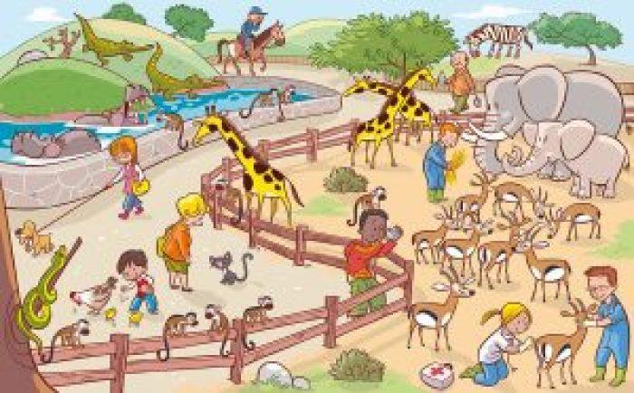 Imagen 14-El parque zoológico-I