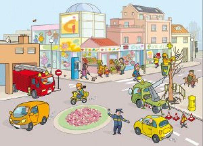 Imagen 8-La calle-los medios de transporte-II
