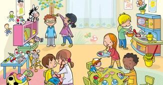 Imagenes educativas-Infantil 3 años -El rincón de los juegos