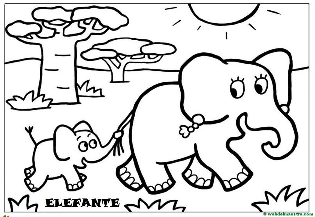 Dibujos En 3d Para Niños Web Del: Animales Y Sus Crías - Web Del Maestro