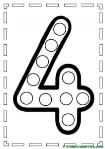 Actividades de motricidad fina y aprendizaje de los números-4