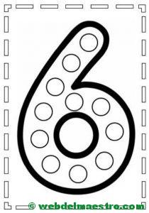 Actividades de motricidad fina y aprendizaje de los números-6