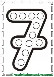 Actividades de motricidad fina y aprendizaje de los números-7