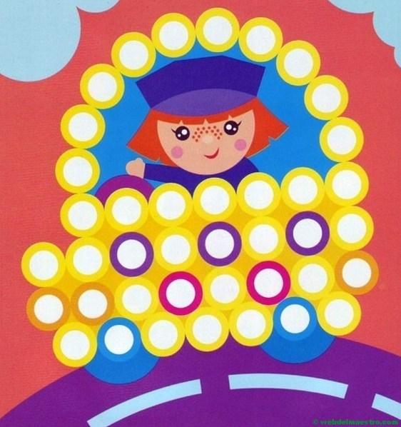 Plantillas para juegos con botones-conductor